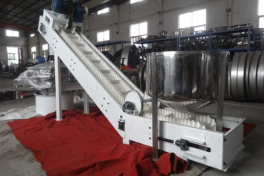 Z shaped belt conveyor picture two